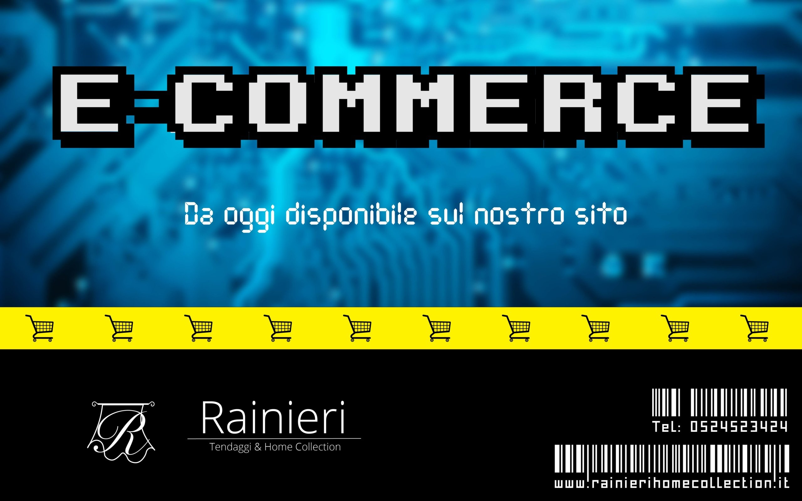 E-commerce ora disponibile